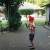沖縄旅行 フクギ並木