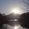 「Wダイヤモンド富士」と「長者ヶ岳・天子ヶ岳」登山(2021.4.21)