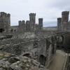 秋のウェールズ(Wales)・コンウィ城