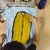 学童キャンプ恒例のTシャツ作り