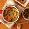 女性に嬉しい薬膳レシピ。鉄分たっーーーぷりの金針菜とラム肉のスープ。