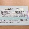 【2018/4】京都市内→京都市内・片道切符の旅(1)京都から北陸へ
