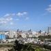仙台で最も有名な展望スポット、青葉城からの仙台都心風景(2020年10月)