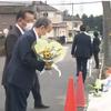 影像!菅総理大臣が千葉県八街市の小学生5人死傷事故!事故現場視察