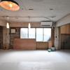 秘密基地の床塗り