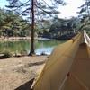 おおぐて湖キャンプ場の林間サイトも良いかも!と思ったから写真で解説