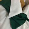 【野菜ソムリエ必見!おすすめレディースシャツ 綿100%なのにノーアイロンでお手入れ不要はほんと?制服スカーフも決まる!】
