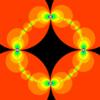 GLSLで描くCircle Inversion Fractals