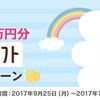 総額777万円分nanacoギフト山分けキャンペーン