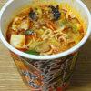今日の食べ物 夜食にカップ麺