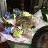 うにの旧友らんちくんママ、パパからのお悔みのカードとお花が届きました!