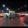 ランボルギーニウラカンEVOとペルフォルマンテによるドラッグレース