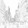 """銀座通りの歩行者天国で考えたこと """"A thought in the Ginza's Pedestrian Paradise"""""""