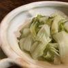 白菜蒸し煮