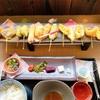 【舞妓飯 嵐山店】🌈カラフルな16色のひとくち天ぷらで舞妓はーん👘