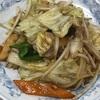美保野ポークの肉野菜炒め(ぎょうざの満州/つつじヶ丘)