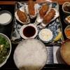牡蠣フライ定食/牡蠣ツ端