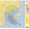 【台風情報】台風19号は五島市の南南西約280㎞にあって950hPaと非常に強い勢力に!今後勢力を維持したまま九州を回り込み、23日朝には黄海に達する見込み!!