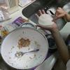 海の日の今日は九龍が早稲アカの夏期講習から帰って来てから、夕食の準備として餃子作りを手伝ってくれました。