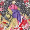 「秋桜の姫」色鉛筆&鉛筆オリジナルイラスト:継続日数200超えてました