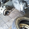#バイク屋の日常 #スズキ #アヴェニス125 #タイヤ交換 #エアーバルブ