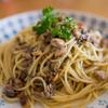 KALDIのいわし水煮缶詰と松の実で新たなやみつきスパゲティ誕生な件