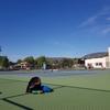 カナダの部活動でテニスをやってみた!!※靭帯断裂中