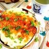 自家製オイルサーディンと野菜の重ね焼きグラタン