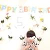 長男5歳の誕生日🎂