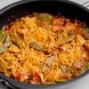 鶏肉とモロッコいんげんのフィデウアのレシピ