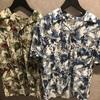 新作商品 花柄オープンシャツ