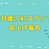 9月度LINEスタンプ売上げ報告