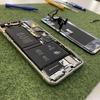 iPhoneX・XSの修理が増えております。