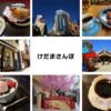 【けだまさんぽ】神田からてくてく「上野でスイーツ三昧」ぽかぽか陽気だった2020年3月