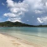 パンガン島  島の北西部をビーチウォーク!!