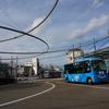 福井〜金沢・路線バス乗り継ぎの旅6 小松にて