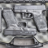 G26 Long Magazine Custom for Two Hands with Safariland Leg Holsters