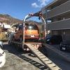 寄居町からレッカー車で他人名義の車検の切れた故障車を廃車の引き取りしました。