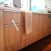 キッチンシンク横の引き出しの収納