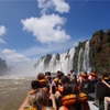 世界一周127日目 アルゼンチン(45) 〜イグアスの滝壺にボートで突入してずぶ濡れに!〜
