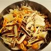 牛きのこせんべい鍋