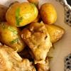 ドライフルーツ入り鶏手羽と新じゃがの味噌バター煮〜コロナ、コロナ、この1週間の様子 in ドイツ〜余った餃子の皮で簡単おやつ