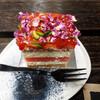 シドニーでローズウォーター x お花のケーキ@Black Star Pastry
