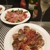 ボンゴレロッソとストロベリードレッシングで春の味