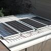 ハッタリ800W太陽光充電開始!