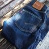 Levi's 501Skinny Long Day Rigid 着用1年経過と3度目の洗濯