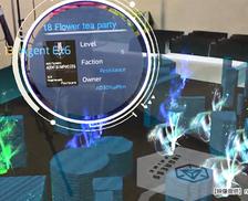 MR(複合現実)とは…が一目で分かる!人気ゲーム「Ingress」のイベントでソフトバンクが開発中のMRをお披露目しました