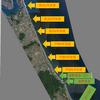 2019/1/16 長浜突堤付近のサーフ 12:00-17:00 ショアジギング フラットフィッシュ サーフヒラメ