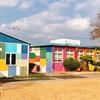 【チェジュ】韓国で一番カラフルな小学校?エウォル小学校トロク分校