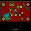 KiCad 初見プレイ完結編。最初の練習用 PCB の完成まで